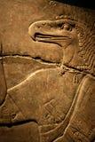 雕刻埃及flacon 库存图片