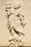 雕刻壁画 免版税库存图片