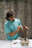 雕刻家 免版税图库摄影