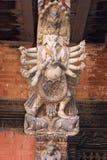 雕刻尼泊尔 免版税库存图片