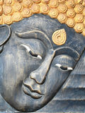 雕刻样式泰国木头 免版税库存照片