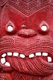 雕刻毛利人 免版税库存图片