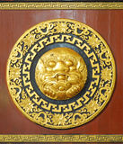 雕刻汉语的艺术 库存图片
