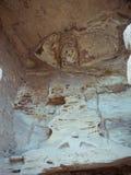雕刻洞穴石yungang 免版税库存照片