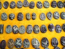 雕刻石头的艺术 库存照片