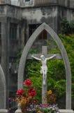 雕刻耶稣 图库摄影