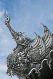 雕刻银 免版税库存照片