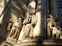 雕刻雕塑 免版税库存图片