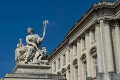 雕塑凡尔赛 免版税库存图片