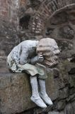 雕塑劳拉福特,奥斯陆 库存照片