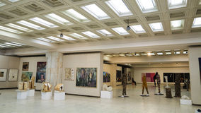 雕塑博览会 库存照片