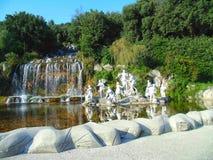 雕塑合奏在喷泉的 免版税库存照片