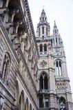 雕塑和建筑学在维也纳 库存照片