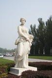 雕塑和建筑学 图库摄影