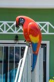 雕塑在一家五星旅馆的水公园在Kranevo,保加利亚 库存图片