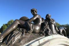 雕塑在伦敦 免版税库存照片