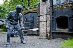 雕塑在公园 免版税库存图片