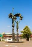 雕塑在公园Museon -莫斯科 免版税库存图片
