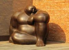 雕塑在北京798 ArtDist 库存照片