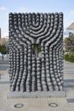 雕塑在圣地亚哥,辣椒 库存照片