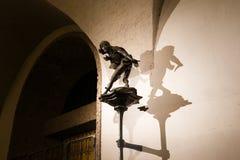 雕塑在慕尼黑 免版税库存照片