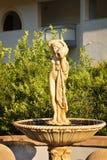 雕塑在罗得岛 库存图片