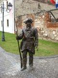 雕塑在罗马尼亚14 免版税库存照片