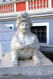 雕塑在Kuskovo公园在莫斯科 库存照片