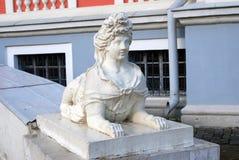 雕塑在Kuskovo公园在莫斯科 免版税图库摄影