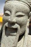 雕塑在Wat Pho 库存照片