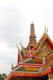 雕塑寺庙 免版税库存图片