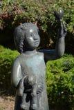 雕塑庭院 免版税图库摄影