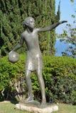 雕塑庭院 免版税库存照片
