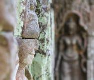 雕塑或雕刻 免版税图库摄影