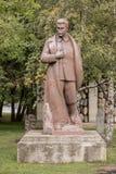 雕塑斯大林在公园Muzeonn 免版税库存图片