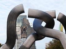 雕塑柏林, kaiser威谦廉纪念品教会 免版税库存照片