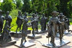 雕塑由伦布兰特绘画的A. Taratynov 免版税库存照片
