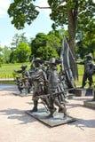 雕塑由伦布兰特绘画的A. Taratynov 免版税库存图片