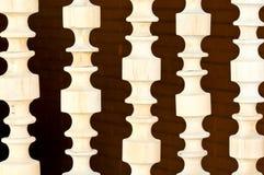 雕塑白色木头 免版税库存图片