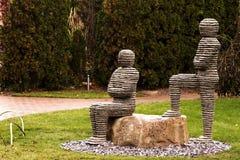 雕塑的地面 免版税图库摄影