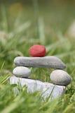 雕塑石赢利地区 免版税库存照片