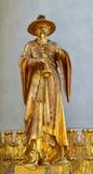 雕塑雕象 免版税库存照片