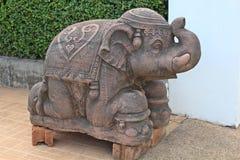 雕塑,为给神 免版税库存照片