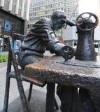 雕塑,服装区,纽约 库存图片