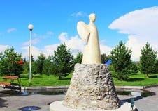 雕塑`一希望`天使  免版税库存照片