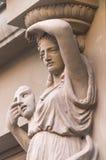 雕塑 结构 免版税库存照片