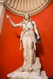 雕塑-梵蒂冈博物馆 免版税库存照片