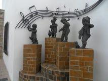 雕塑-马尼尔瓦马拉加西班牙 免版税库存图片