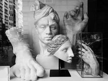 雕塑 库存图片