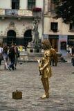 活雕塑 免版税库存图片